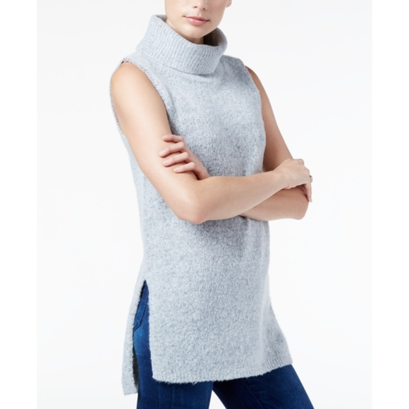 9496c18f18ce7 GUESS Sleeveless Turtleneck Sweater